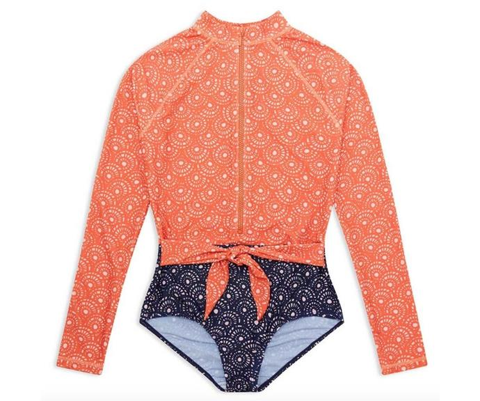 "Woven Baskets Womens LS Paddle Suit, $62.00, [Cancer Council.](https://go.skimresources.com?id=105419X1569321&xs=1&url=https%3A%2F%2Fwww.cancercouncilshop.org.au%2Fproducts%2Fwoven-baskets-womens-paddle-suit|target=""_blank"")"