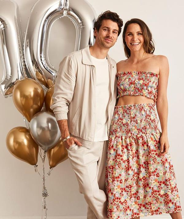"Dazie Boulevard Maxi Skirt, $62.99 and Crop Top, $34.99, [The Iconic](https://www.theiconic.com.au/boulevard-maxi-skirt-1323224.html|target=""_blank""|rel=""nofollow"")"