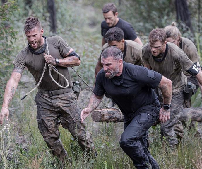 Dan credited DS Ant Middleton, Mark 'Billy' Billingham, Ollie Ollerton and Jason 'Foxy' Fox for pushing him to his limits and beyond.