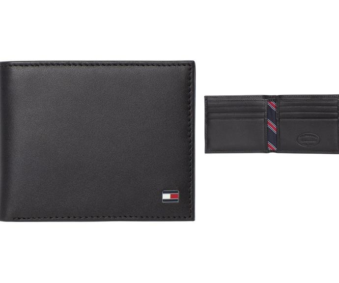"""[**Wallet**](https://www.myer.com.au/p/eton-small-embossed-bifold-wallet-635697370