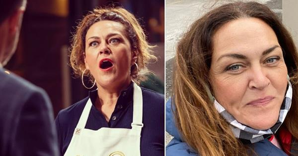 Nerves may have bested Chrissie Swan on Celebrity MasterChef, but she was a great sport