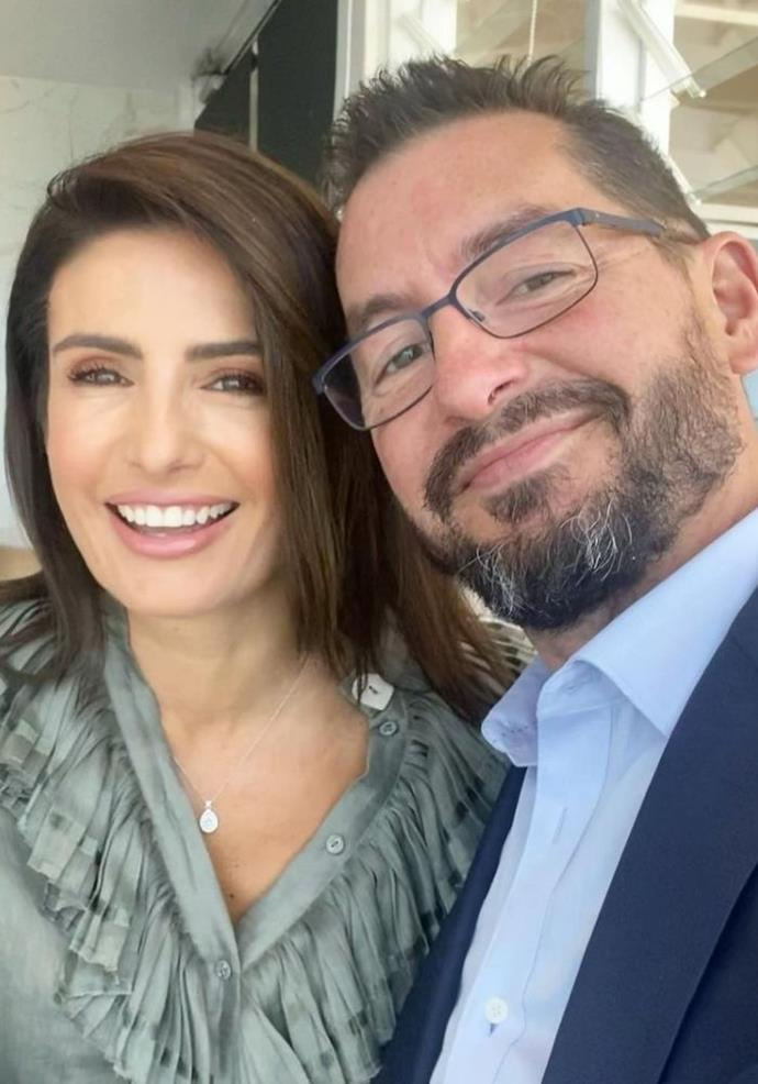 Ada and her partner Adan enjoyed a cute selfie together.