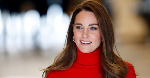 Duchess Catherine is radiant in red as she takes a bold stance on drug addiction