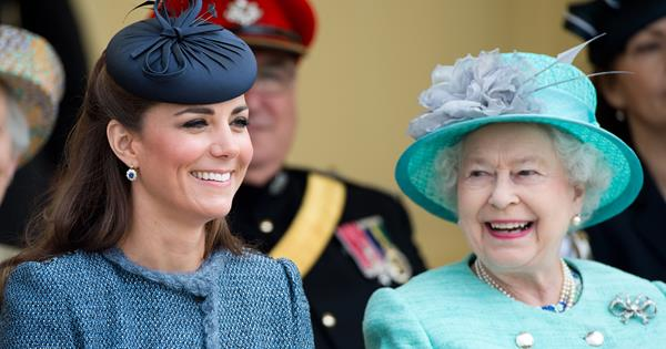 """She's born to rule! Proud Queen praises """"magnificent"""" Kate Middleton"""