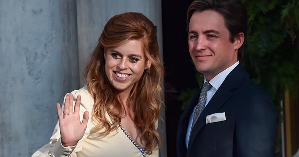 Princess Beatrice's glamorous outing since welcoming baby Sienna with husband Edoardo Mapelli Mozzi
