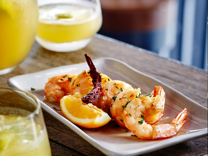 Gambas al ajillo - a traditional Spanish dish that's easy and tasty.