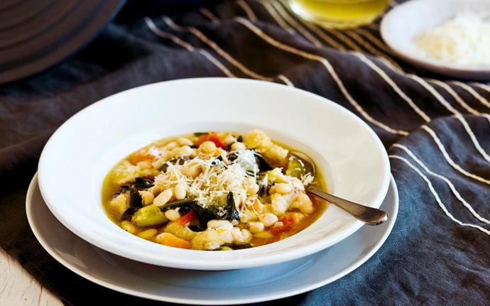 Italian soups like [ribollita](http://www.foodtolove.co.nz/recipes/ribollita-15920) are perfect for stale bread.