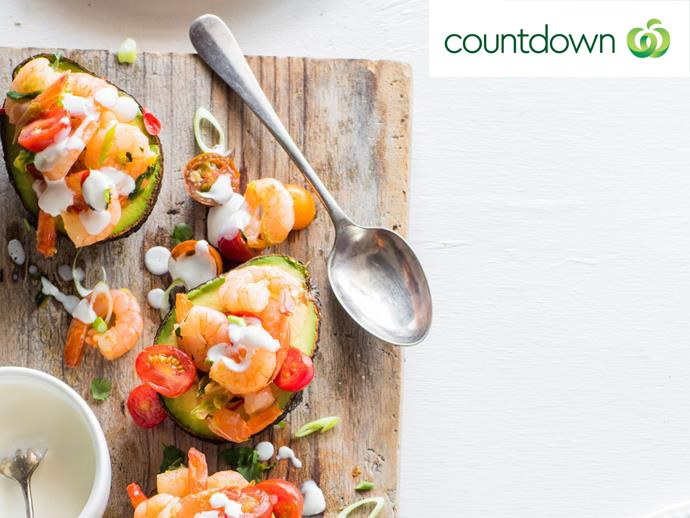 """For a dish that's deliciously practical, try using an [avocado as a serving bowl](http://www.foodtolove.co.nz/recipes/avocado-with-chilli-prawns-and-lime-mayonnaise-36604 target=""""_blank"""")."""