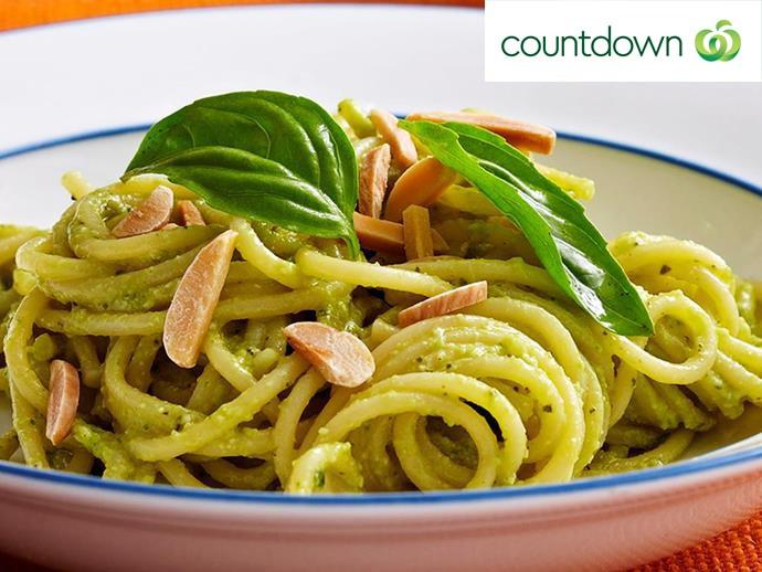 "For a creamy green pasta sauce, try making [avocado pesto](http://www.foodtolove.co.nz/recipes/avocado-pesto-pasta-12833 target=""_blank"")."