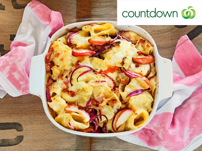 """[Alpine macaroni and cheese with roasted apples](http://www.foodtolove.co.nz/recipes/alpine-macaroni-and-cheese-with-roasted-apples-37569 target=""""_blank"""")"""