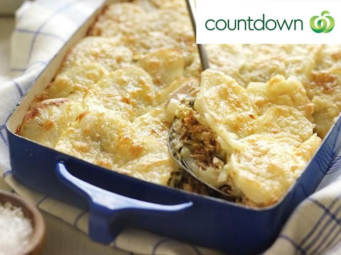 "[Tuna potato bake](http://www.foodtolove.co.nz/recipes/tuna-potato-bake-26356 target=""_blank"" rel=""nofollow"")"