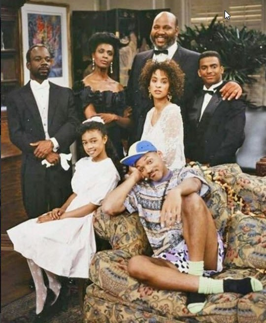 The Fresh Prince of Bel Air was a dinner time staple back in the '90s.