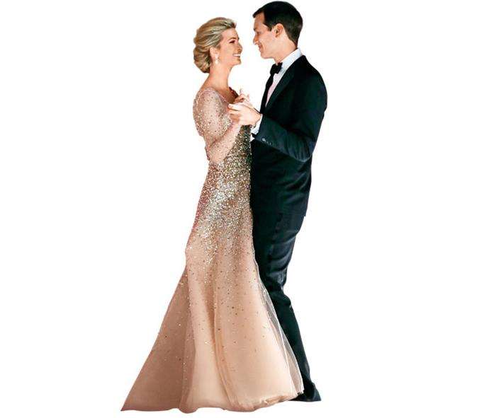 Ivanka and Jared at the Freedom Ball, after her father's inauguration.