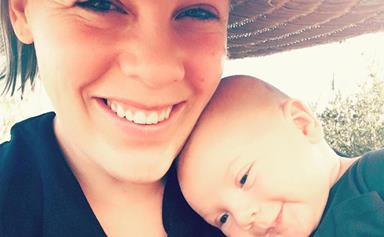 Pink's empowering message to mums after second baby