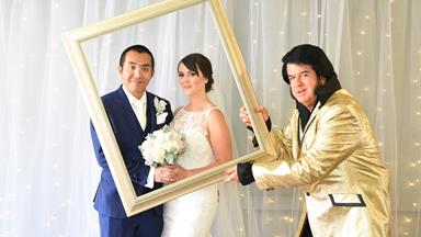 Radio star Chang Hung ties the knot in Vegas