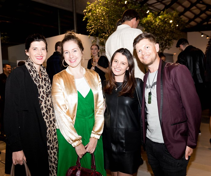 Alice O'Connell, Emma Clifton, Kelly Bertrand and Sebastian van der Zwan