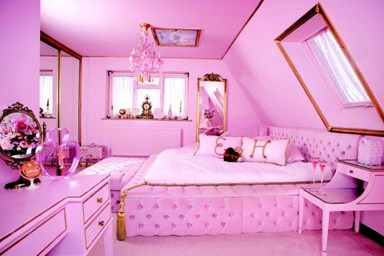 This has to be the world's pinkest house