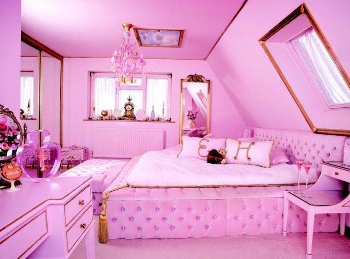 Pinkest house ever