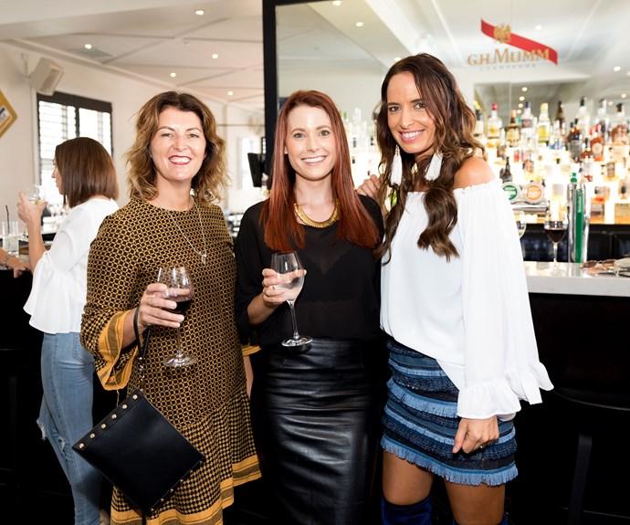 Beth Morris, Kate Jarrett, Kelly Coe