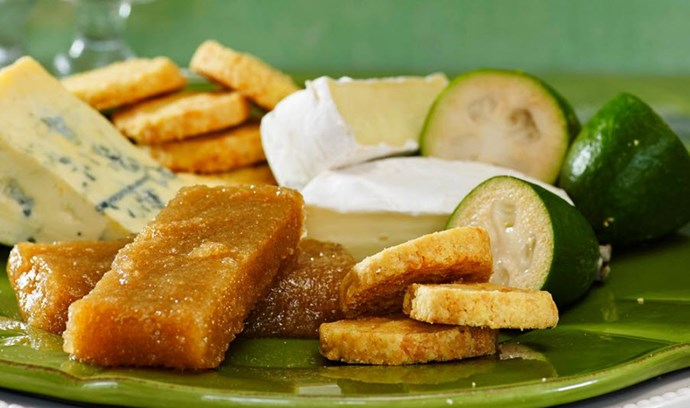 [Feijoa paste - click here for the recipe](http://www.foodtolove.co.nz/recipes/feijoa-paste-22148)