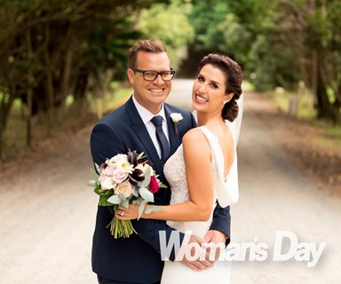 Nadine Chalmers-Ross weds long-time love Dan Higgins