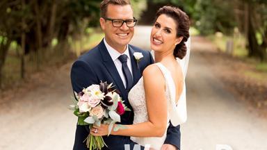 Nadine Chalmers-Ross weds long-time love Dan Higgins