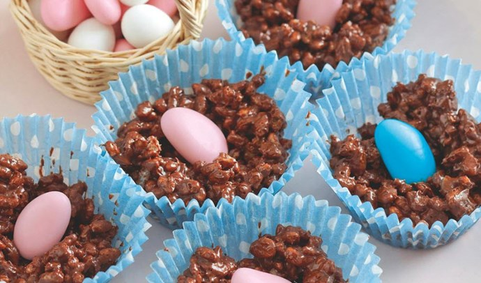 [Easter Crackle Nests - click here for the recipe.](http://www.foodtolove.co.nz/recipes/easter-crackle-nests-10875)