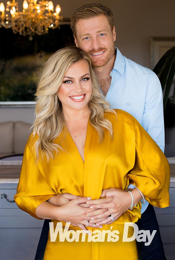 The couple are over the moon about the impending arrival of their little one!