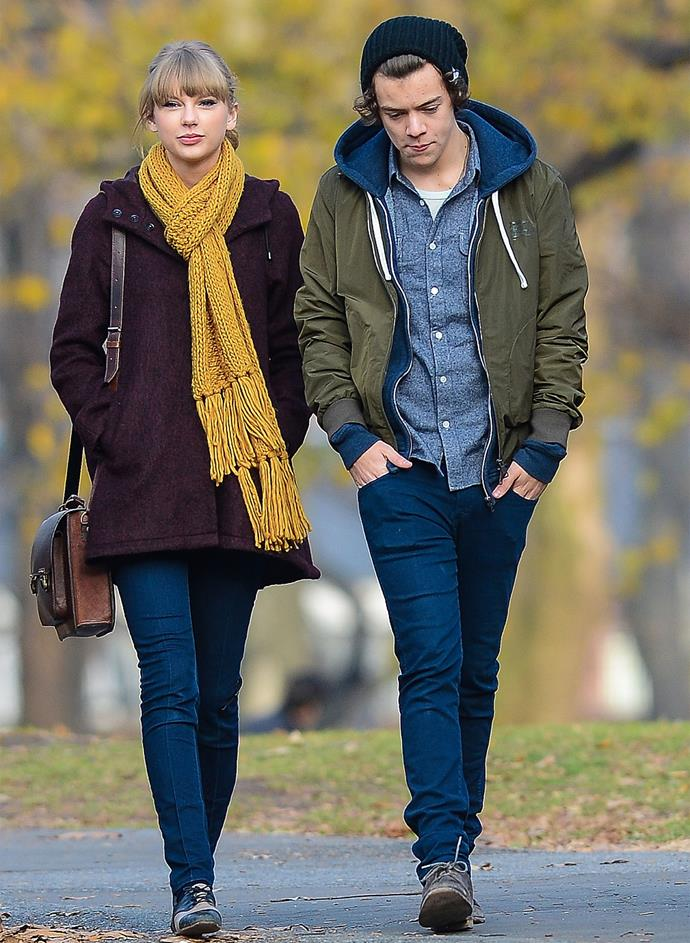 The couple were photographed on a date together in Central Park in 2012. Photo: Getty