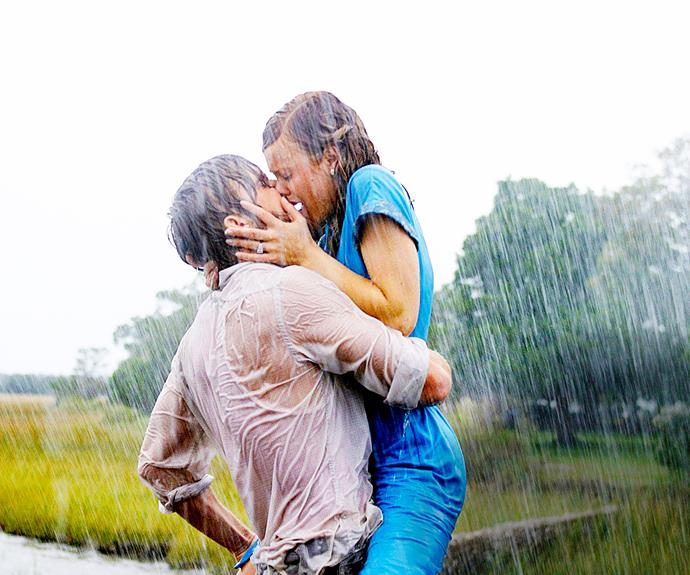 **Ryan Gosling & Rachel McAdams in *The Notebook*** They dated for three years after The Notebook, but it wasn't love at first sight. Ryan and Rachel hated each other so much during the early stages of filming, they even had a screaming match on set!