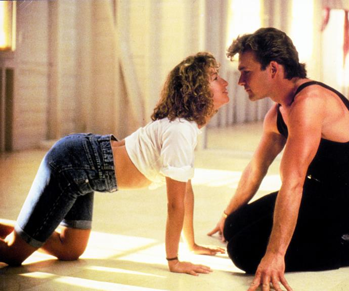 """**Jennifer Grey & Patrick Swayze in *Dirty Dancing*** Their feud started way before he sang the iconic lyrics, """"I've had the time of my life,"""" with the pair falling out after a massive row on the set of 1984 movie *Red Dawn*."""