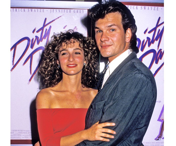 **Jennifer Grey & Patrick Swayze in *Dirty Dancing*** In fact, Jennifer almost pulled out of *Dirty Dancing* when she learned Patrick was the lead. Luckily, they later had a heart-to-heart and made up.