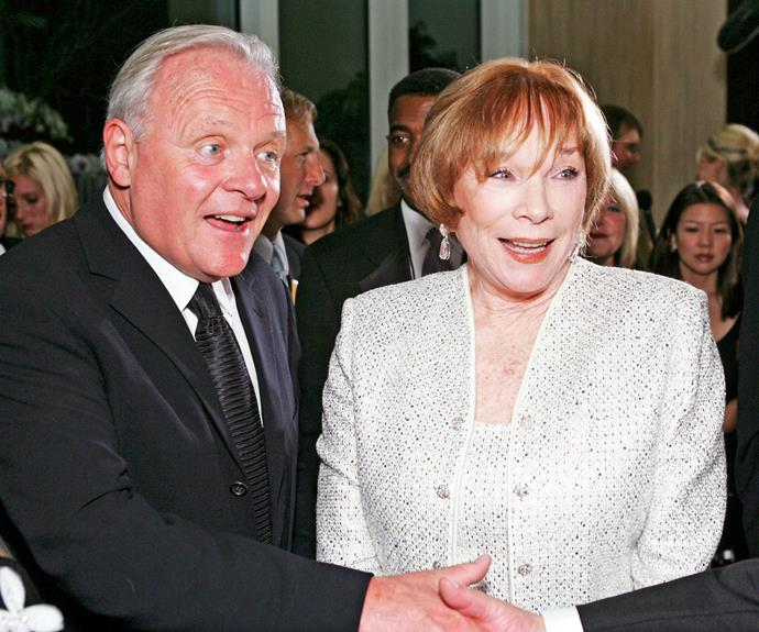 """**Anthony Hopkins & Shirley MacLaine  in *A Change of Seasons*** Anthony didn't bother to sugar-coat his feelings for co-star Shirley, who he called """"the most obnoxious actress I have ever worked with"""" after appearing alongside her in this 1980 comedy-drama."""