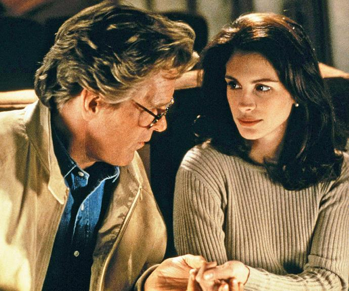 """**Nick Nolte & Julia Roberts in *I Love Trouble*** Nick and Julia reportedly hated each other so much, they filmed scenes separately and used stand-ins to create on-screen chemistry. And they didn't attempt to hide their feelings. Julia is said to have called Nick """"completely disgusting"""", while he claims, """"She's not a nice person. Everyone knows that."""""""