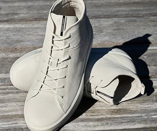 How to wear the casual white sneaker
