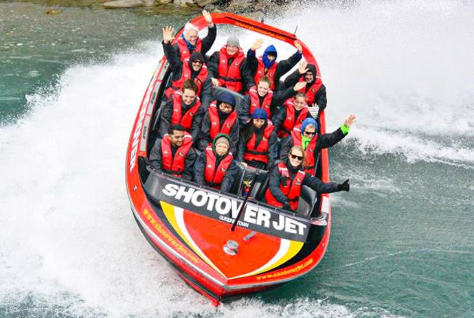 Great shot! There's nothing like a good dose of adrenaline to start your day in Queenstown.