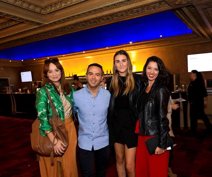 Sarah Stuart, Aziz Alsaafin, Danica Young, Shannon REdstall