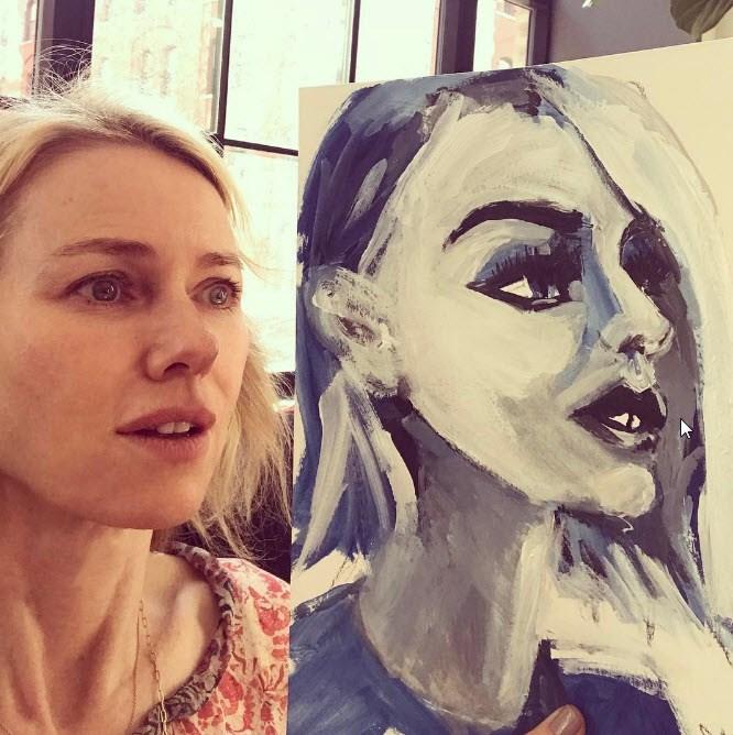 Naomi Watts gets her true likeness in paint.