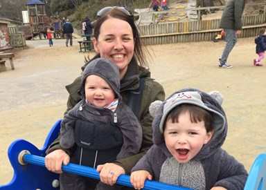 'No one told me how hard having a second child is'