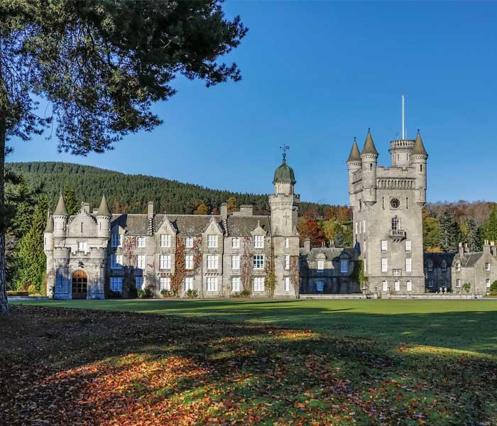 Queen Victoria and Prince Albert got the architect of Aberdeen's city, William Smith, to design the new, current castle in a Scottish Baronial style. *(Image: Getty)*