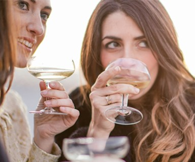 What a night of drinking wine does to your skin
