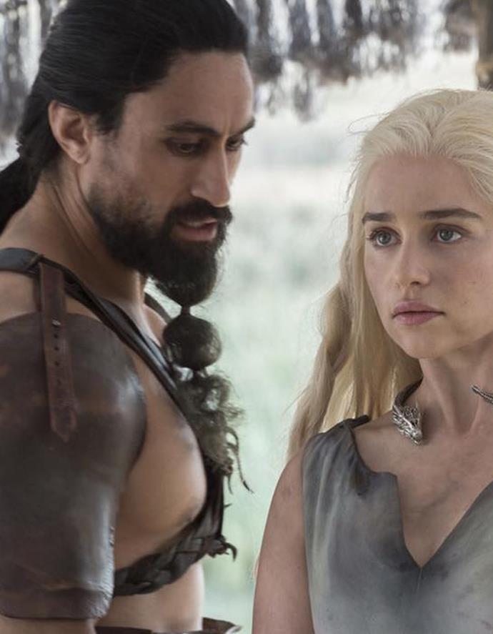 Naufahu starred in season six of Game of Thrones alongside Emilia Clarke. Photo: Supplied