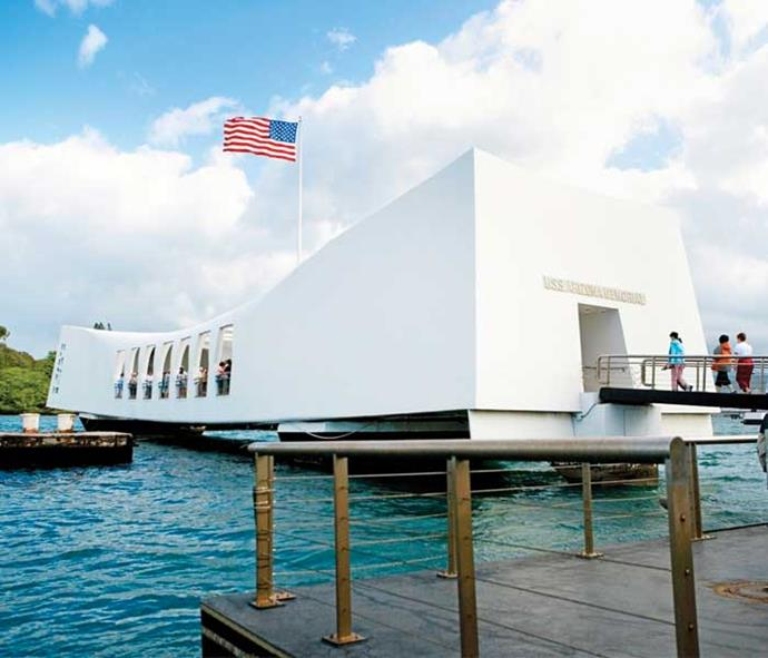 We visited Pearl Harbor and soaked up the history.