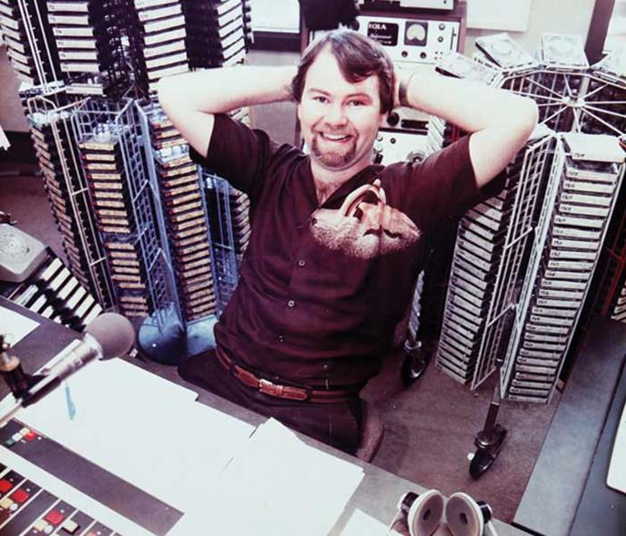 Murray in the early '80s when all the songs and ads were put on cartridges.