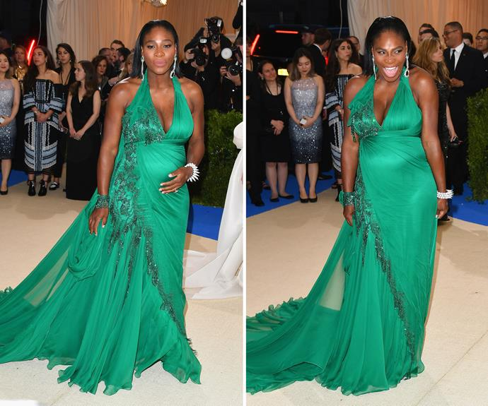 Serena Williams in Atelier Versace