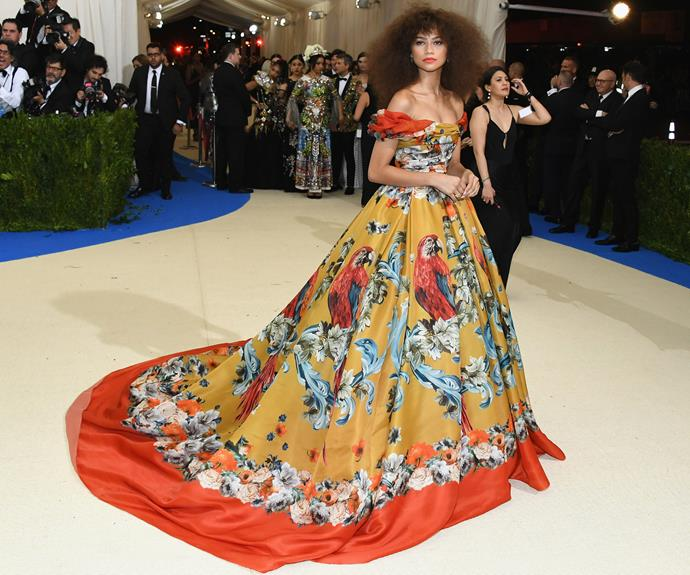 **BEST:** Zendaya's elaborate Dolce & Gabbana gown had a deserved moment in the spotlight at this year's gala.