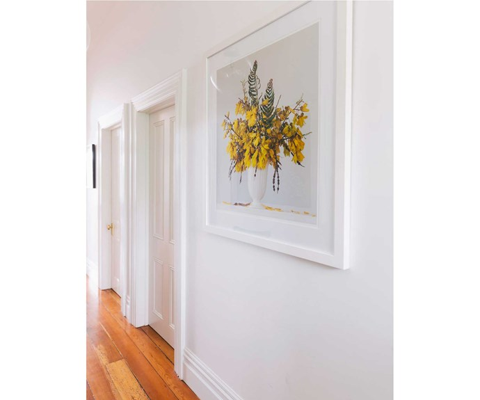 Kowhai and Fern, a photographic print by Emma Bass.   *Photos: Duncan Innes/proof agency.*