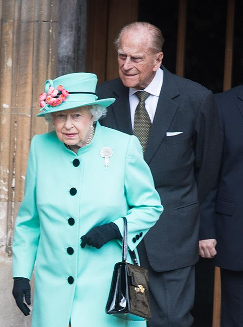 The Queen and Prince Philip were seen at an Easter service in April.