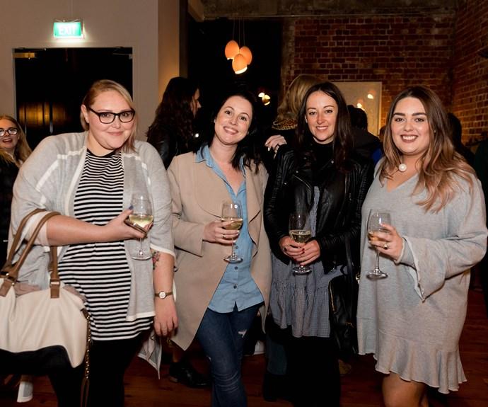 Liana Thaggard, Patricia Greig, Rebecca Blithe, Bailee Wilson-Yates