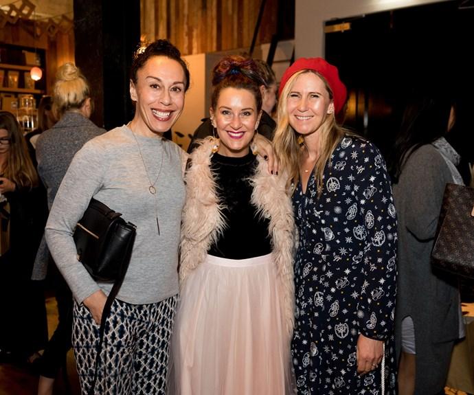 Jane Lowe, Belinda Nash, Rachel Grunwell